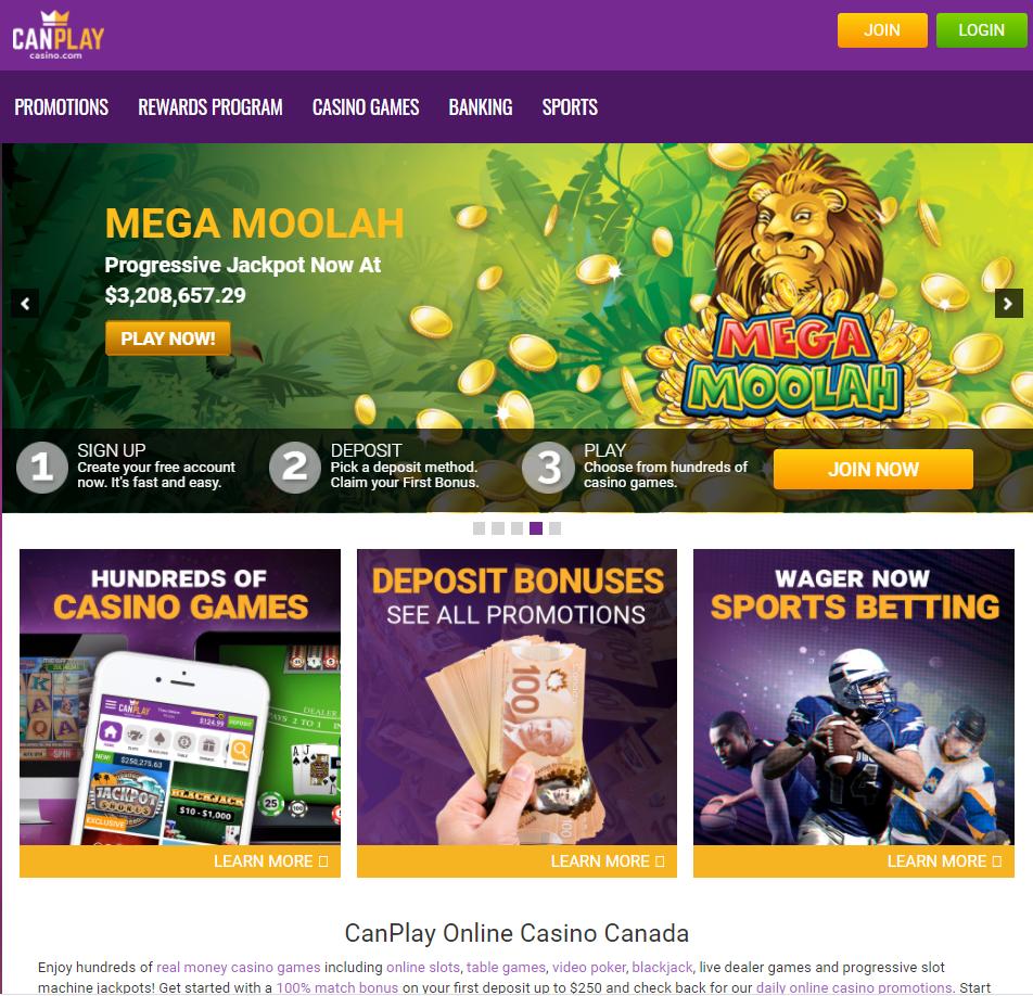CanPlay Online Casino Canada